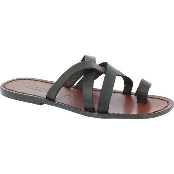 Chaussures Homme Sandales et Nu-pieds Gianluca - L'artigiano Del Cuoio 549 U MORO CUOIO Testa di Moro