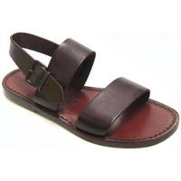 Chaussures Femme Sandales et Nu-pieds Gianluca - L'artigiano Del Cuoio 500 D MORO CUOIO Testa di Moro