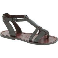 Chaussures Femme Sandales et Nu-pieds Gianluca - L'artigiano Del Cuoio 572 D MORO CUOIO Testa di Moro