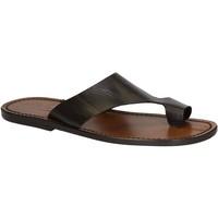 Chaussures Homme Sandales et Nu-pieds Gianluca - L'artigiano Del Cuoio 521 U MORO CUOIO Testa di Moro