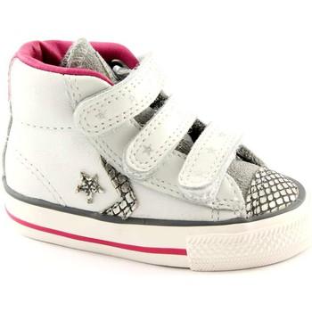 Chaussons Bébé converse 746384c blanc argent plyr étoiles ev v4 chaussures toutes les l