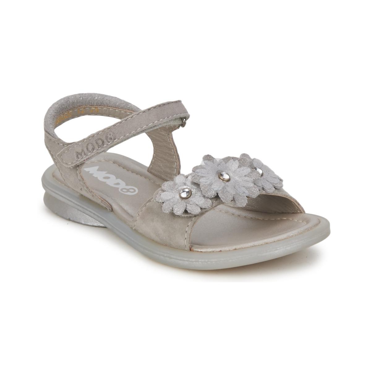 Sandale Mod'8 JUKA Argent