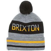 Accessoires textile Homme Bonnets Brixton Bonnet  à pompon Fairmont Gris Gris