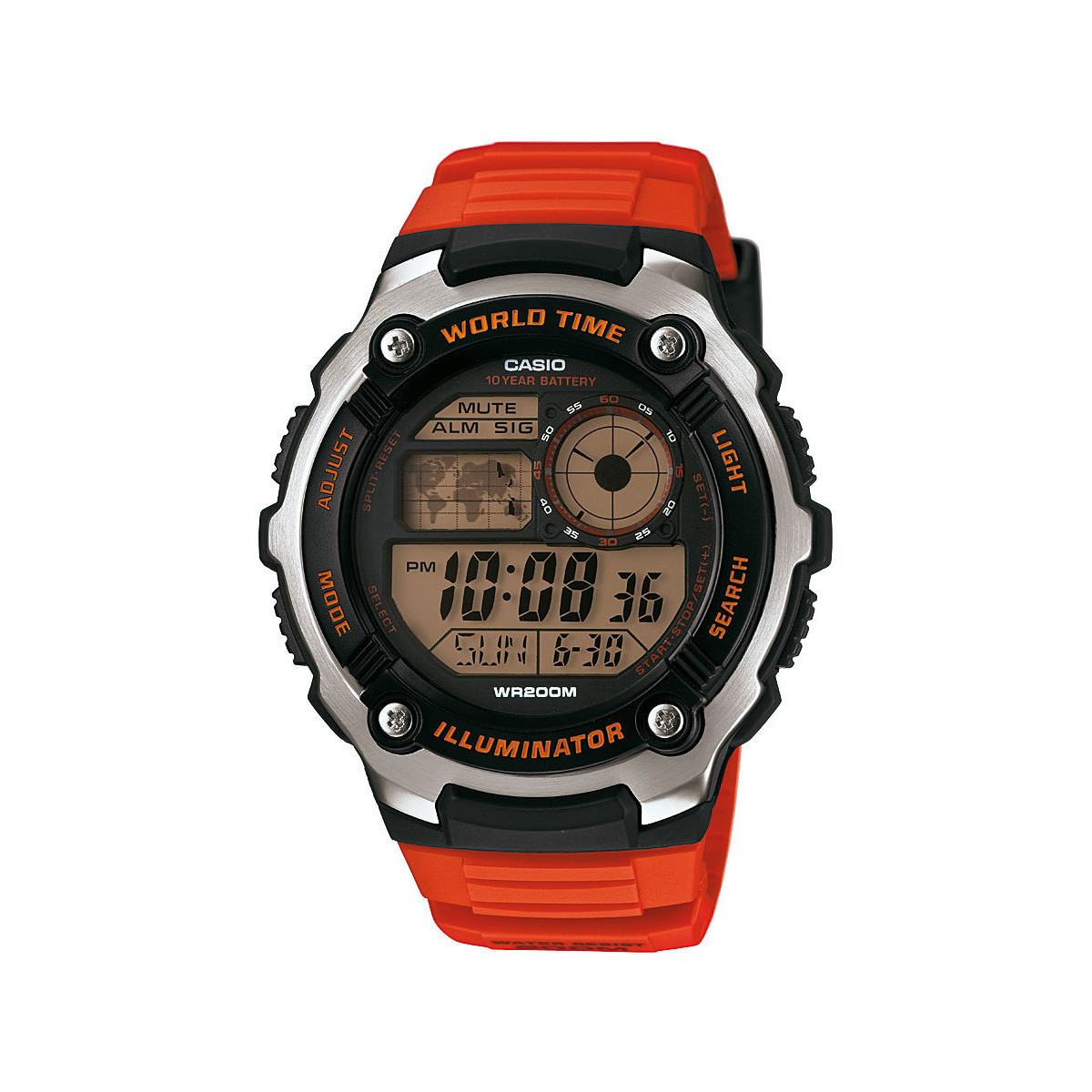 Casio Montre  Collection AE-2100W-4AVEF - Montre Digitale Résine Homme