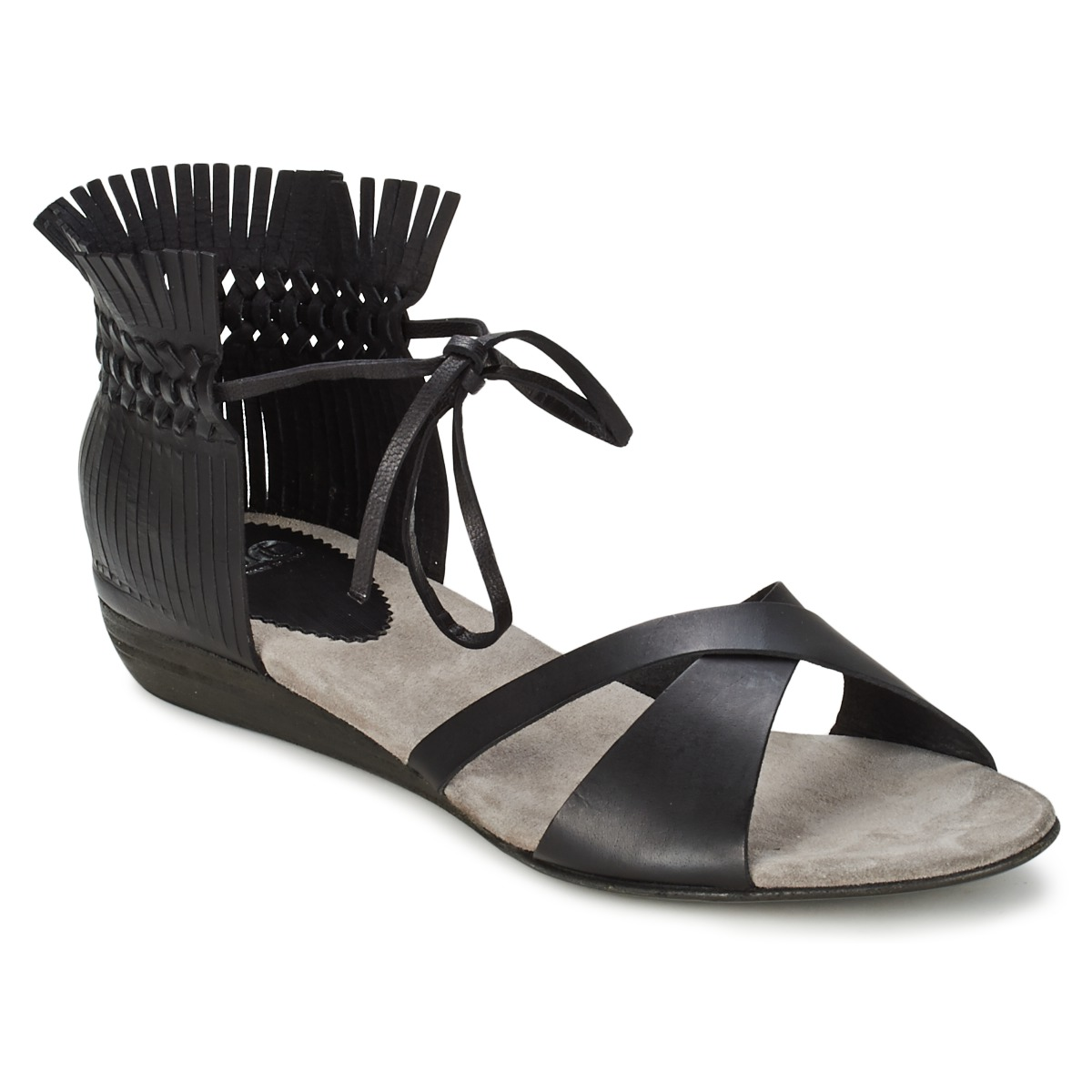 Sandale Fru.it TRIVENTA Noir