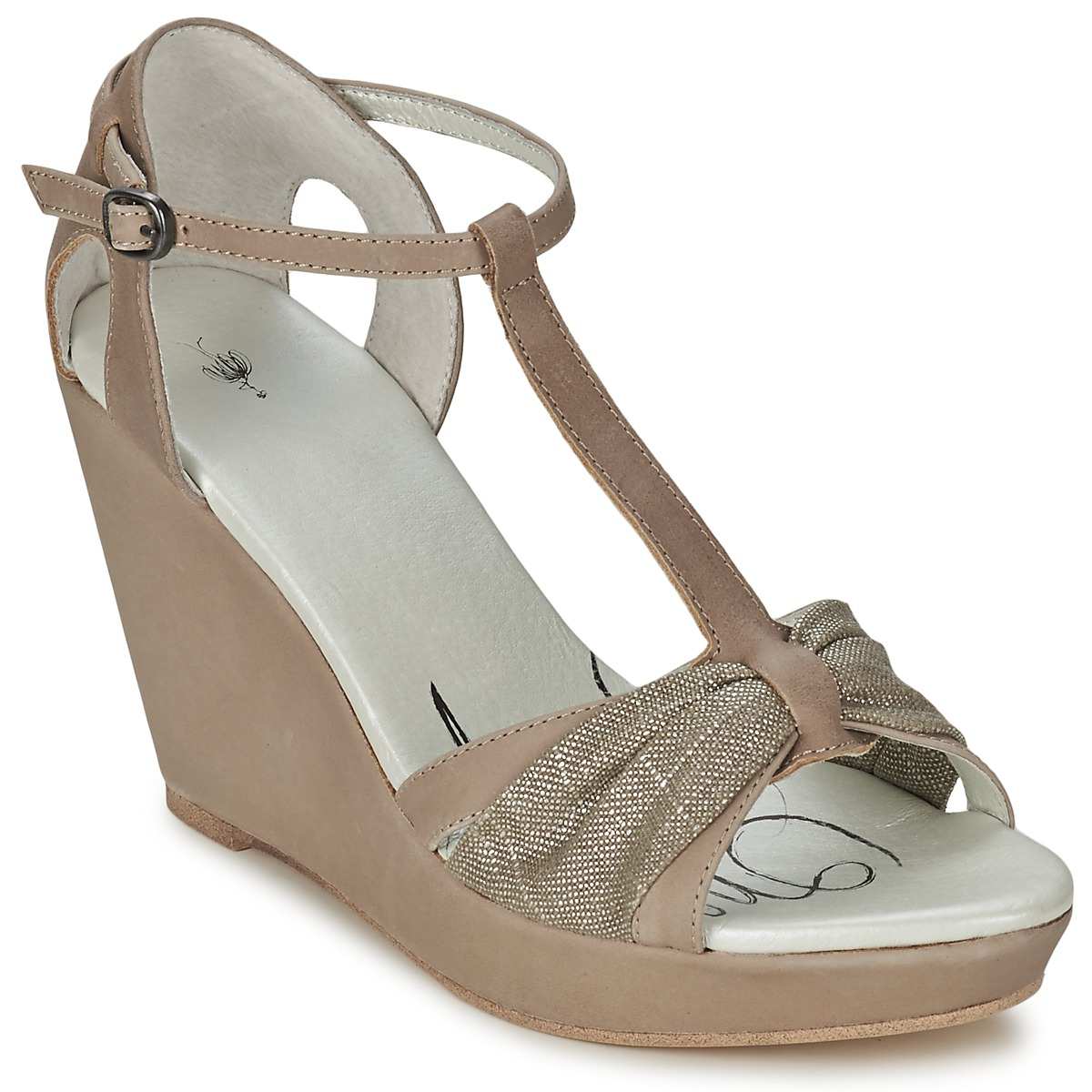 Sandale One Step CEANE Taupe/doree taupe