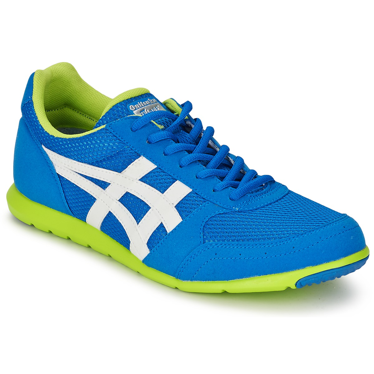 Onitsuka Tiger Sherborne runner Mid blue/white - Chaussures Baskets basses Homme