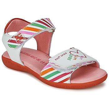 Sandale Agatha Ruiz de la Prada CAZOLETA Blanc / Multicolore 350x350