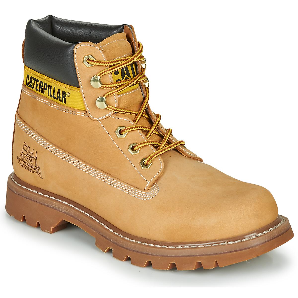 4a56526ba847f1 Chaussures Homme Boots Caterpillar COLORADO Miel ...