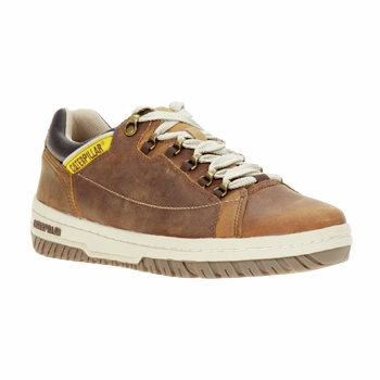 Chaussures Homme Baskets basses Caterpillar APA Marron