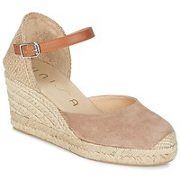 Chaussures Femme Sandales et Nu-pieds Unisa CACERES Beige