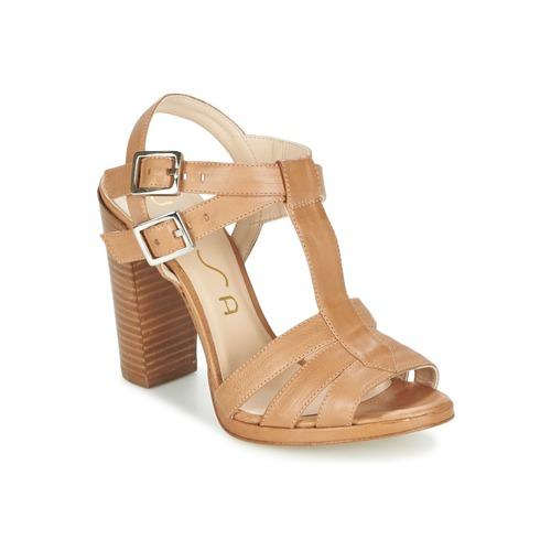 Unisa YUM Beige - Livraison Gratuite avec  - Chaussures Sandale Femme