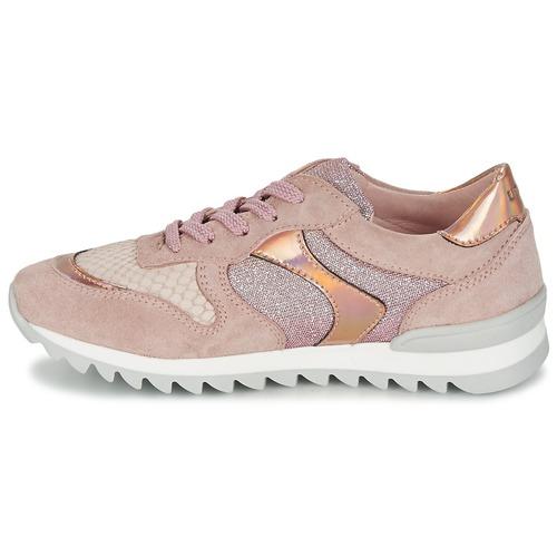 Chaussures Femme Dalton Unisa Baskets Basses Rose mn0N8wyOv
