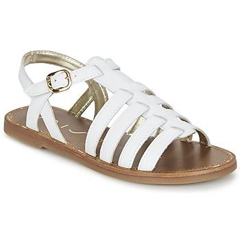 Chaussures Femme Sandales et Nu-pieds Unisa YOLETA Blanc