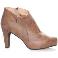 Chaussures Femme Bottines LPB Shoes Les Petites Bombes Bottines Alienor taupe Marron