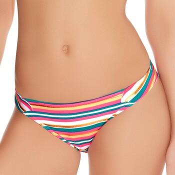 Vêtements Femme Maillots de bain séparables Freya Bas de maillot de bain à rayures Beach candy sorbet Multicolore