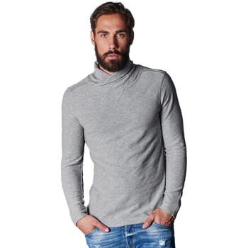 Vêtements Homme T-shirts manches longues Japan Rags T-Shirts manches longues  Supply Gris Noir