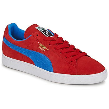 Chaussures Homme Baskets basses Puma SUEDE CLASSIC+ Rouge / Bleu