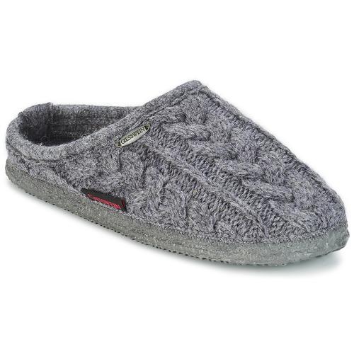 Chaussures Homme Chaussons Giesswein NEUDAU Anthracite