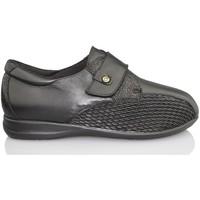 Chaussures Femme Mocassins Calzamedi largeur spéciale NOIR