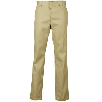 Vêtements Homme Chinos / Carrots Dickies SLIM FIT WORK PANT Beige