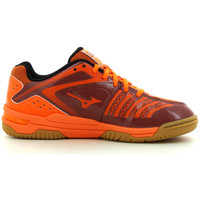 Chaussures Enfant Sport Indoor Mizuno Wave Stealth 3 Jr Orange/ Camo