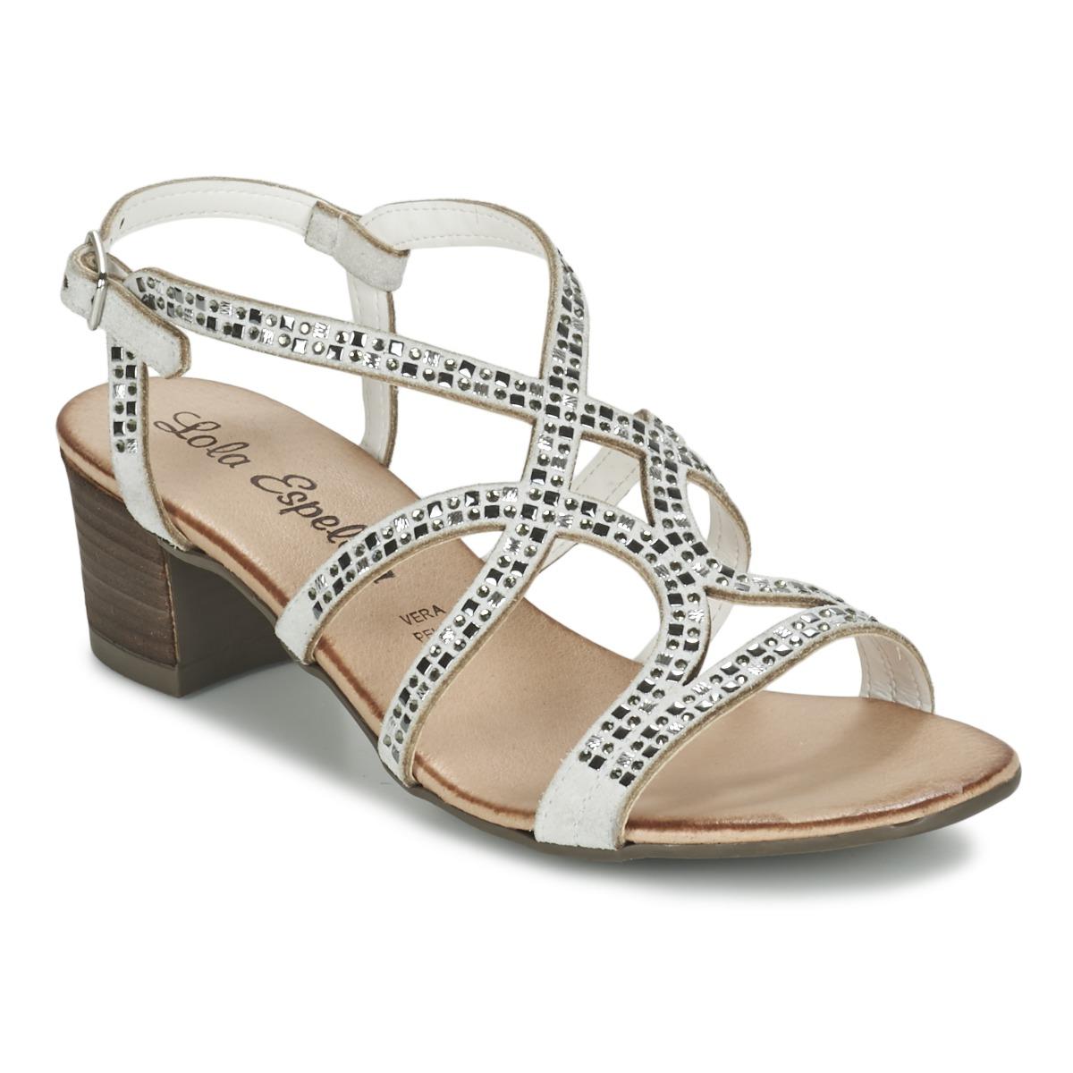 Sandale Lola Espeleta GRILLION Blanc