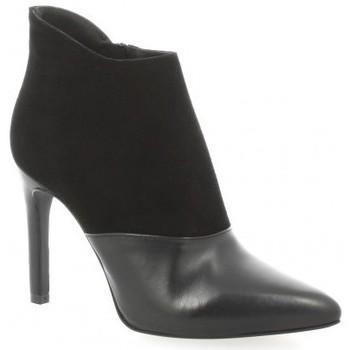 Chaussures Femme Boots Fremilu Boots cuir Noir