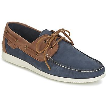 Chaussures Homme Chaussures bateau Ben Sherman OAUK BOAT SHOE Marine / Marron