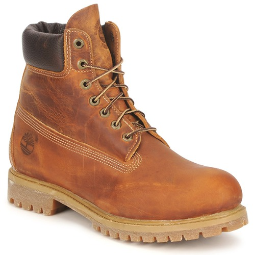 Bottines / Boots Timberland HERITAGE 6 IN PREMIUM Marron 350x350
