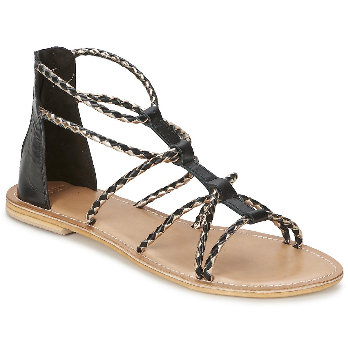 Sandale Eden MAYRA Noir