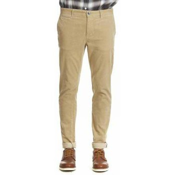 Vêtements Homme Chinos / Carrots Heroseven Pantalon Chino Slim  Sable Beige