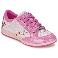 Chaussures Fille Baskets basses Lelli Kelly GLITTER-ROSE-CALIFORNIA Rose