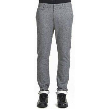 Vêtements Homme Pantalons de survêtement Heroseven Bas De Survetement Chino Fleeno  Gris Chine Gris