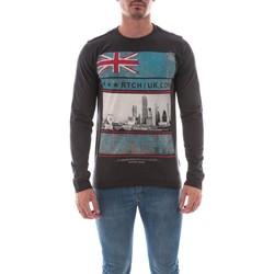Vêtements Homme T-shirts manches longues Ritchie T-SHIRT JALABORT Gris foncé