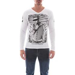 Vêtements Homme T-shirts manches longues Ritchie T-SHIRT JENOVA Blanc