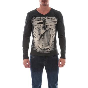 Vêtements Homme T-shirts manches longues Ritchie T-SHIRT JENOVA Gris foncé