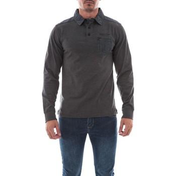 Vêtements Homme Polos manches longues Ritchie POLO PULLING Gris