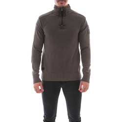 Vêtements Homme Pulls Ritchie PULL ZIP LOUAR Marron