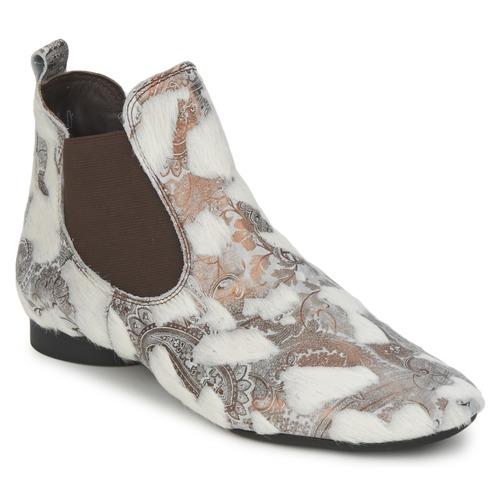 Bottines / Boots Think ASSAM Beige 350x350