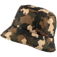 Chapeaux Nyls Création Chapeau Pluie  Claire Camouflage marron