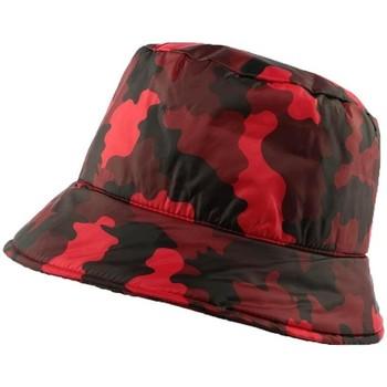 Accessoires textile Homme Chapeaux Nyls Création Chapeau Pluie  Claire Camouflage Rouge Rouge