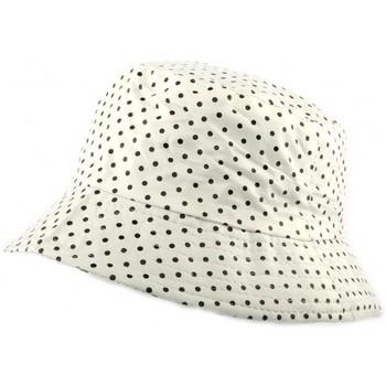 Accessoires textile Homme Chapeaux Nyls Création Chapeau Pluie  Maud Blanc Pois Blanc