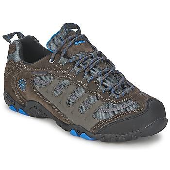 Chaussures-de-randonnee Hi-Tec PENRITH LOW WP Charbon / Bleu 350x350
