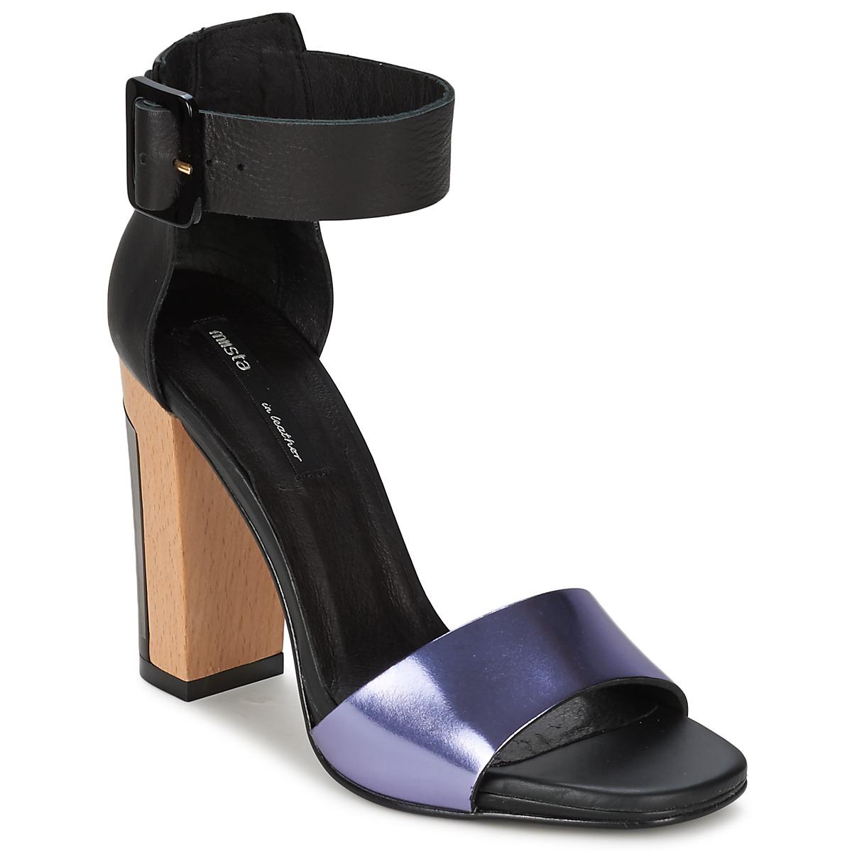 Sandale Miista LILY Noir / Lavande