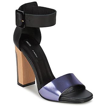 Sandale Miista LILY Noir / Lavande 350x350