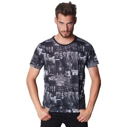 Vêtements Homme T-shirts manches courtes Japan Rags T-Shirt  Melimelang Black 38