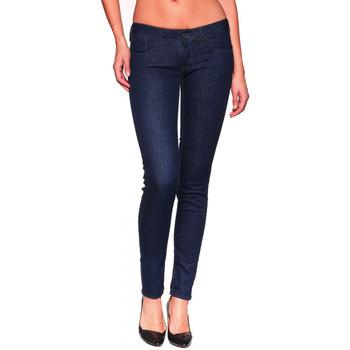 Vêtements Femme Jeans slim Le Temps des Cerises Jean Slim  PULP Wash2 Blue Bleu