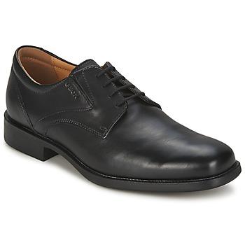 Chaussures Homme Derbies Geox FEDERICO Noir