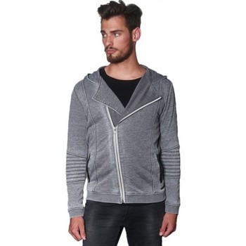 Vêtements Homme Sweats Japan Rags Sweat zippé  Harlo Grey Melange Gris